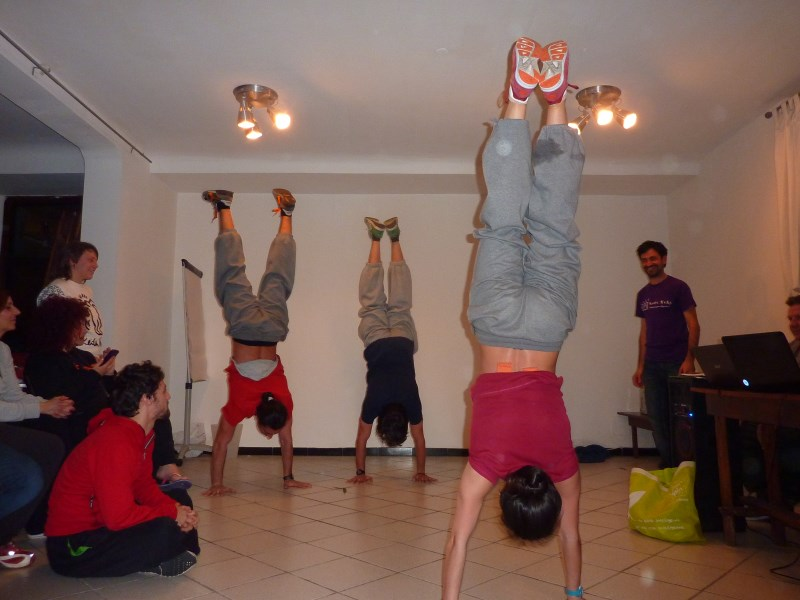 Indy Estate Crew : i giovani UISP si allenano a Wiki Hostel ;)