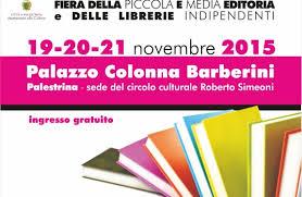Pantasema a CONTESTI DIVERSI! Fiera delle librerie indipendenti a Palestrina, 19/20/21 Novembre 2015