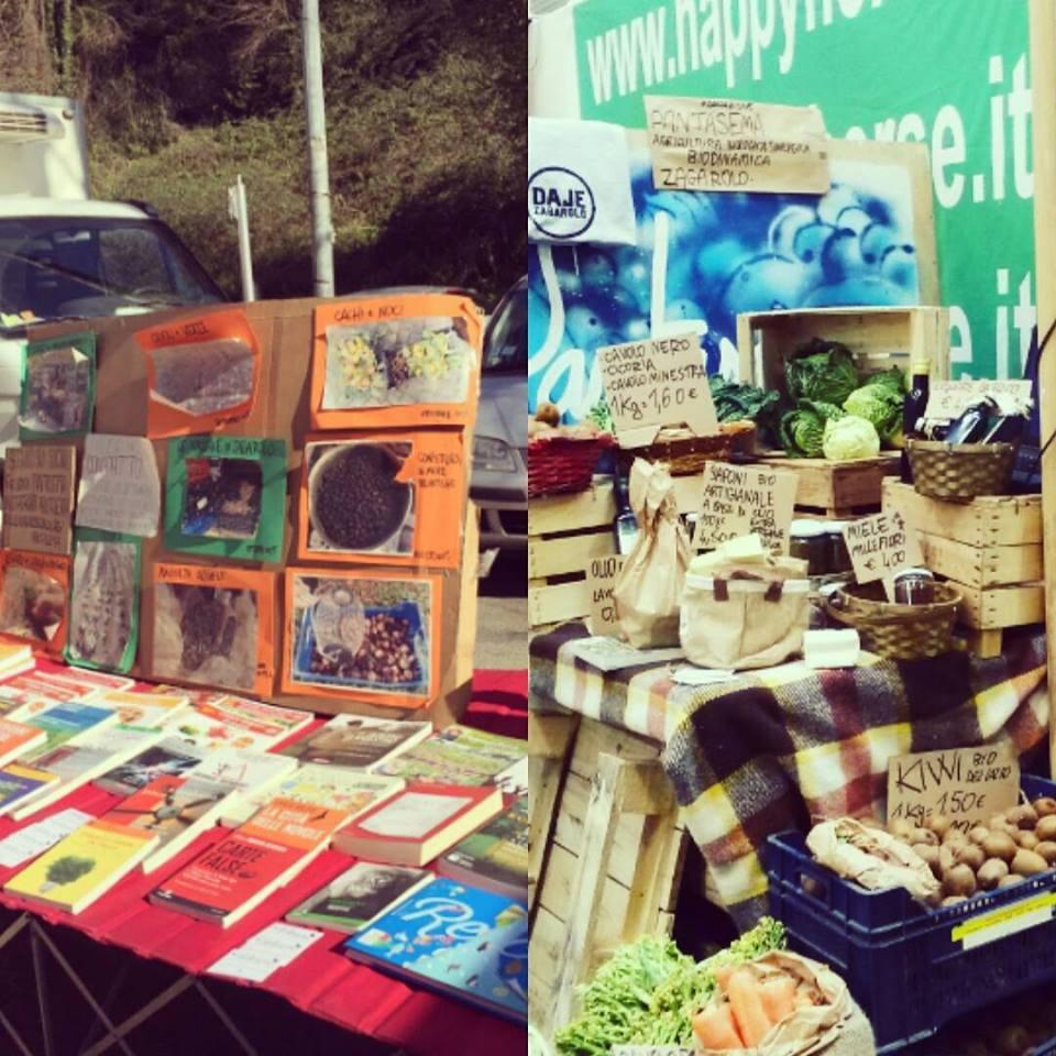 8 Maggio > Pantasema con i suoi prodotti alla festa del Mercato Contadino di Zagarolo