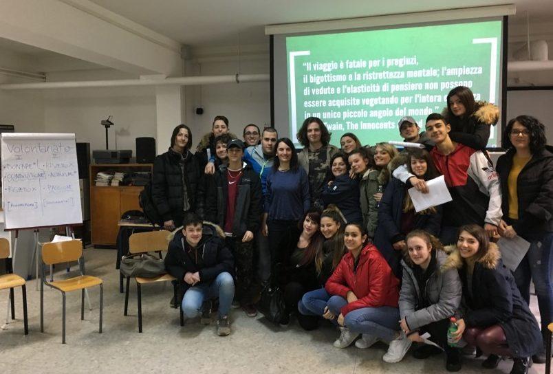 Viaggio-Volontariato e Mobilità Europea sbarcano al Pertini di Albano!
