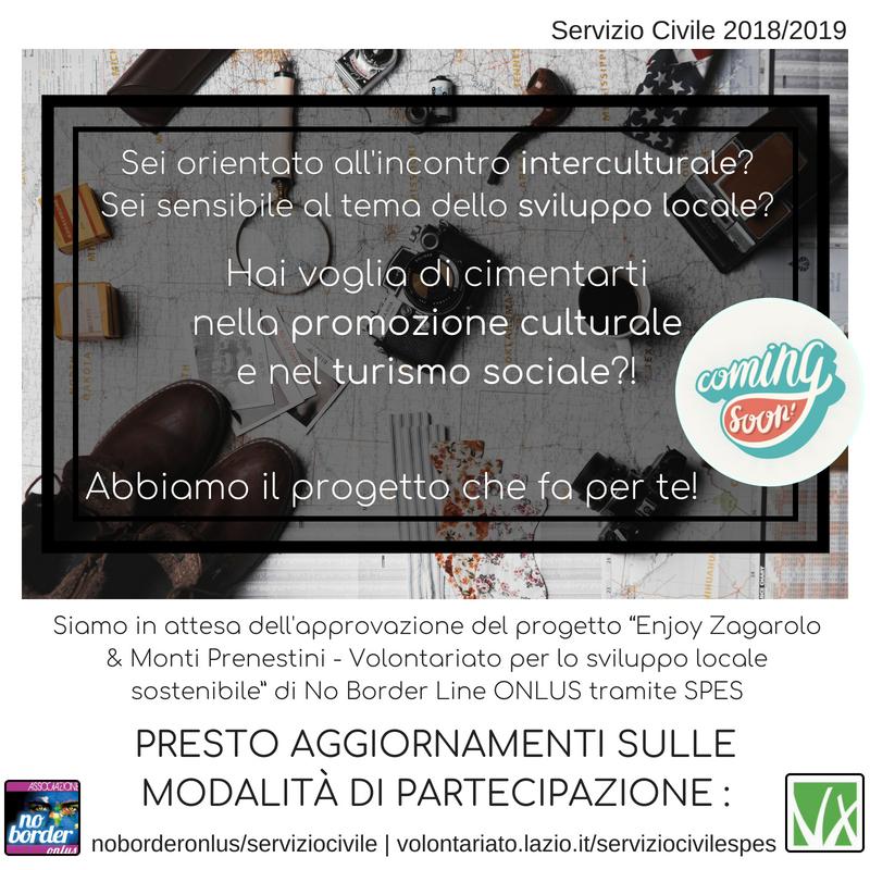 Servizio Civile 2018/2019… Coming soon!
