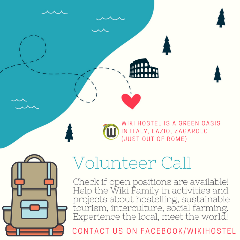 Wiki Hostel Call for Volunteers