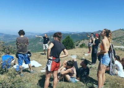 Osservare il Panorama dalla cima dei Monti Prenestini