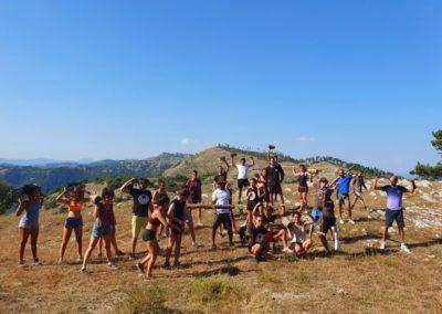 foto di gruppo monti prenestini