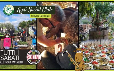 Agri Social Club ogni sabato a Pantasema!