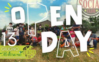 13 Giugno Open Day a Pantasema!