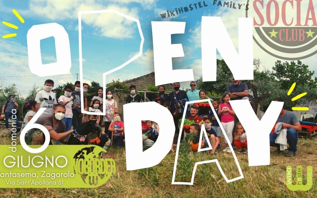 6 Giugno Open Day a Pantasema!